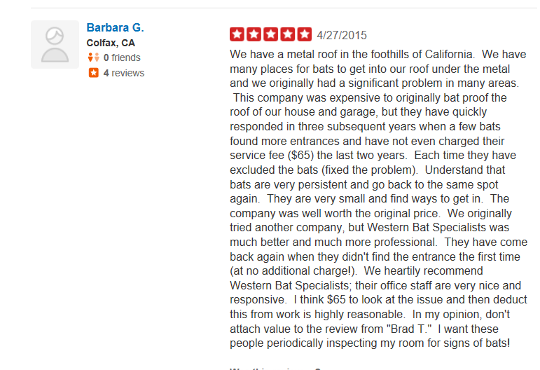 Yelp Review Barbara