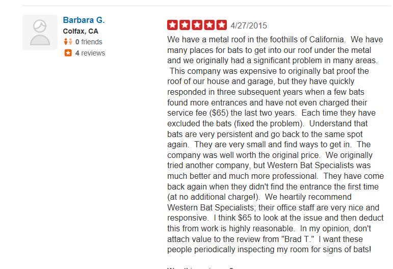 Yelp Review Barbara